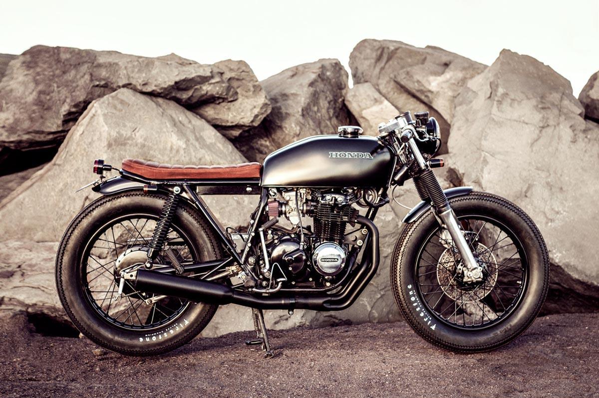 Honda CB400 Brat style