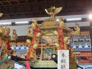 八坂神社六角神輿