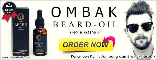 Ombak Beard Oil Terbaru Asli Malaysia 100% Ampuh Menumbuhkan Kumis dan Brewok