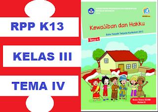 GAMBAR RPP K13 TEMA 4 REVISI 2018 KEWAJIBAN DAN HAKKU