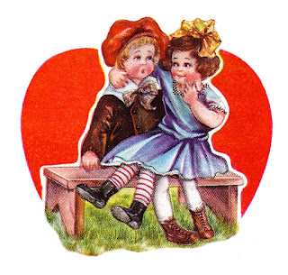 valentine heart girl boy printable crafting download