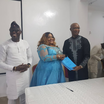 Nollywood star Foluke Daramola bags endorsement deal with real estate firm Suru group