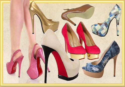 Sepatu Platform Heels