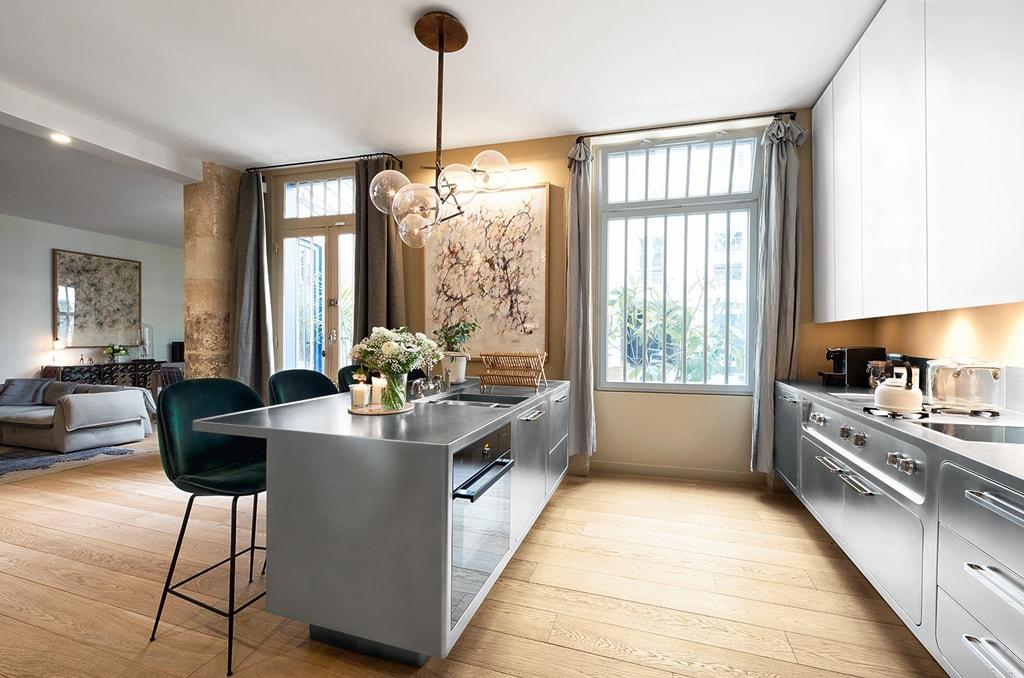 Cocinas con estilo ideas para dise ar tu cocina - Unir cocina y salon ...