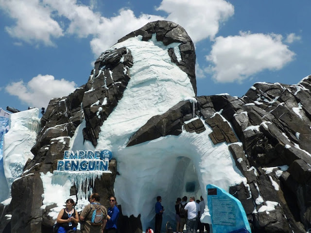 Antartica: Empire of Penguin en Sea World