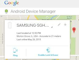 How To Find My Android Phone using android device manager