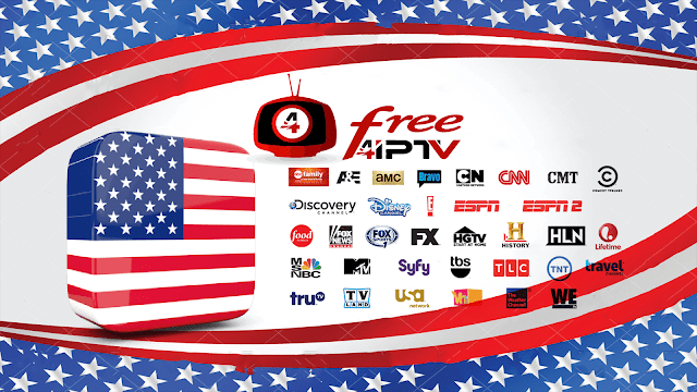 United States IPTV, Download m3u IPTV Playlist