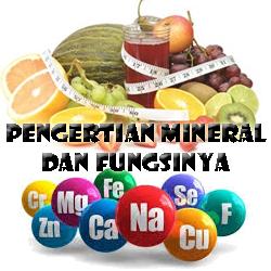 Pengertian Mineral dan Fungsi Mineral