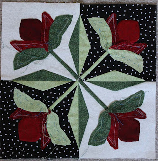 Mediterranean Rose block