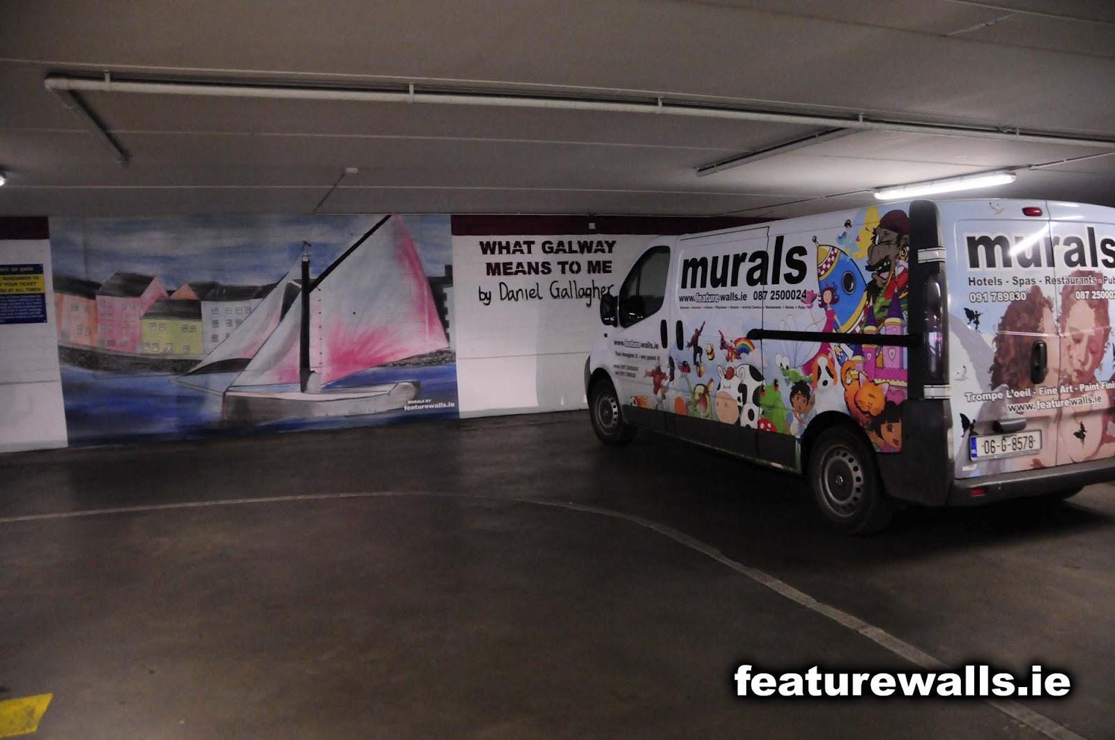 Mural Painting Professionals Featurewalls Ie Euro Car Park Mural