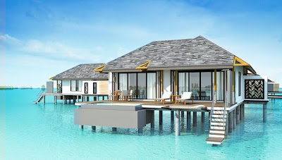 Amari Havodda Maldives 水上泳池別墅-外觀