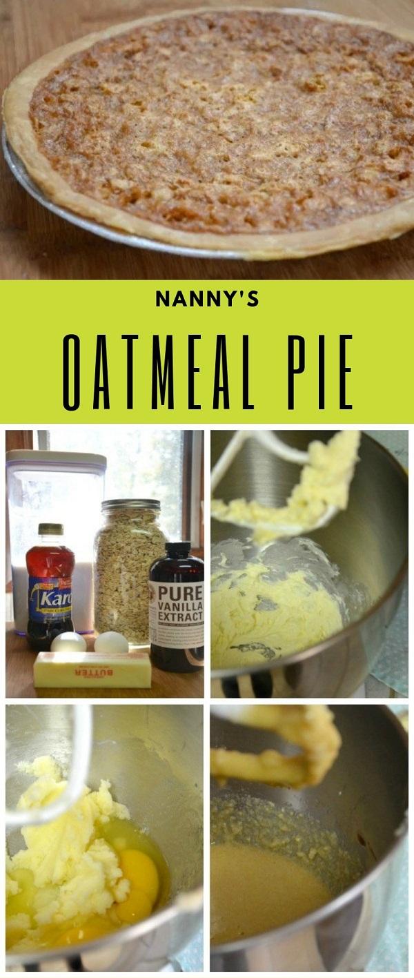 Nanny's Oatmeal Pie