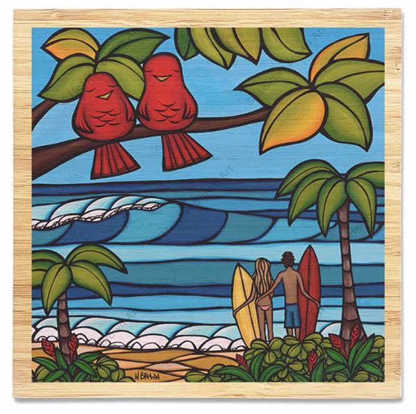 Hawaii surf art heather brown