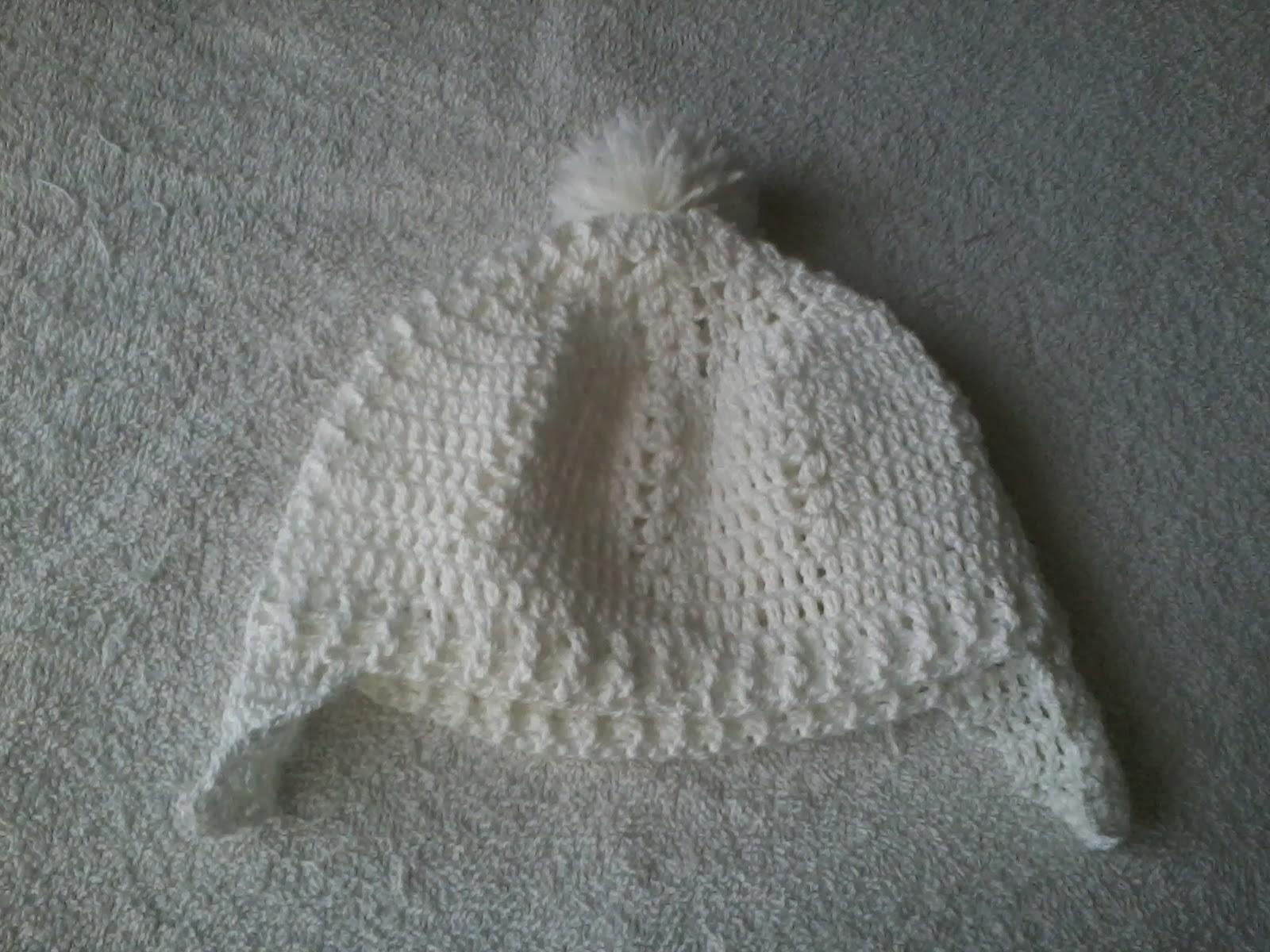 Hoje trago uma touquinha de crochê para bebe com protetor para orelhas! Uma  Senhora me encomendou e adorei o modelinho 813aeca059e