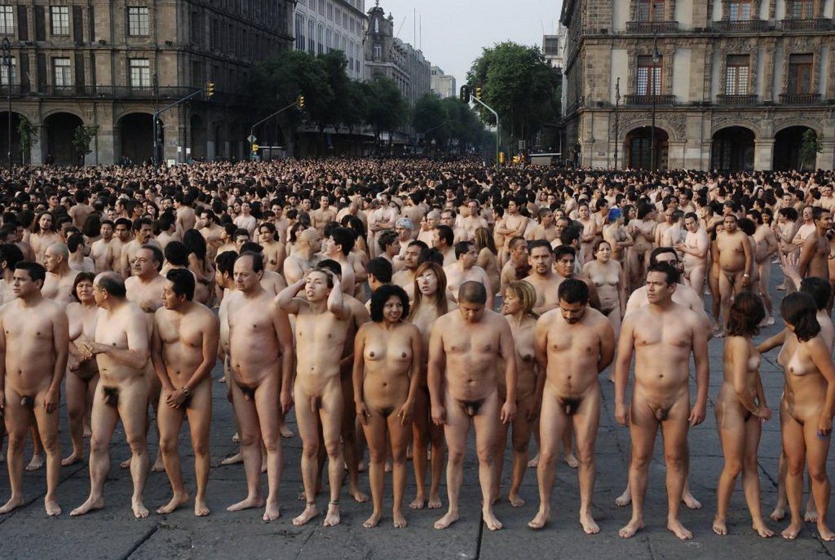 Exposition Naturelle Spencer Tunick - Mexico  Co-5806