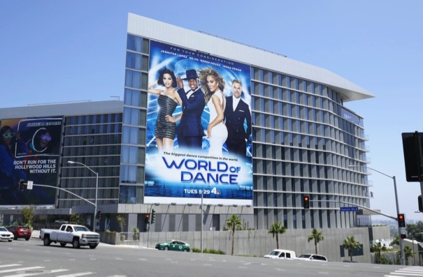 World of Dance season 2 billboard