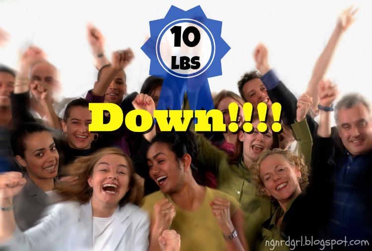 10lbs Down!