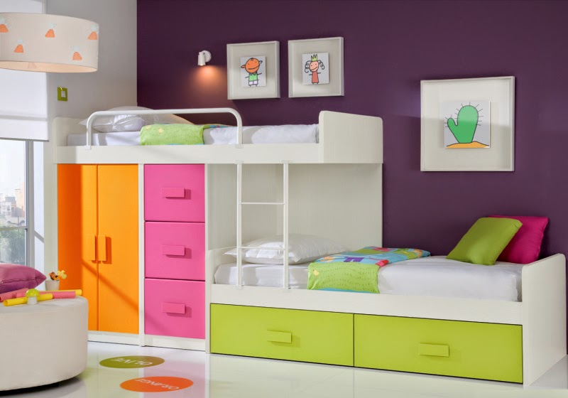 20 Awesome Modern Bedroom Furniture Designs: Awesome Kids Bedroom Decorating Ideas With Modern
