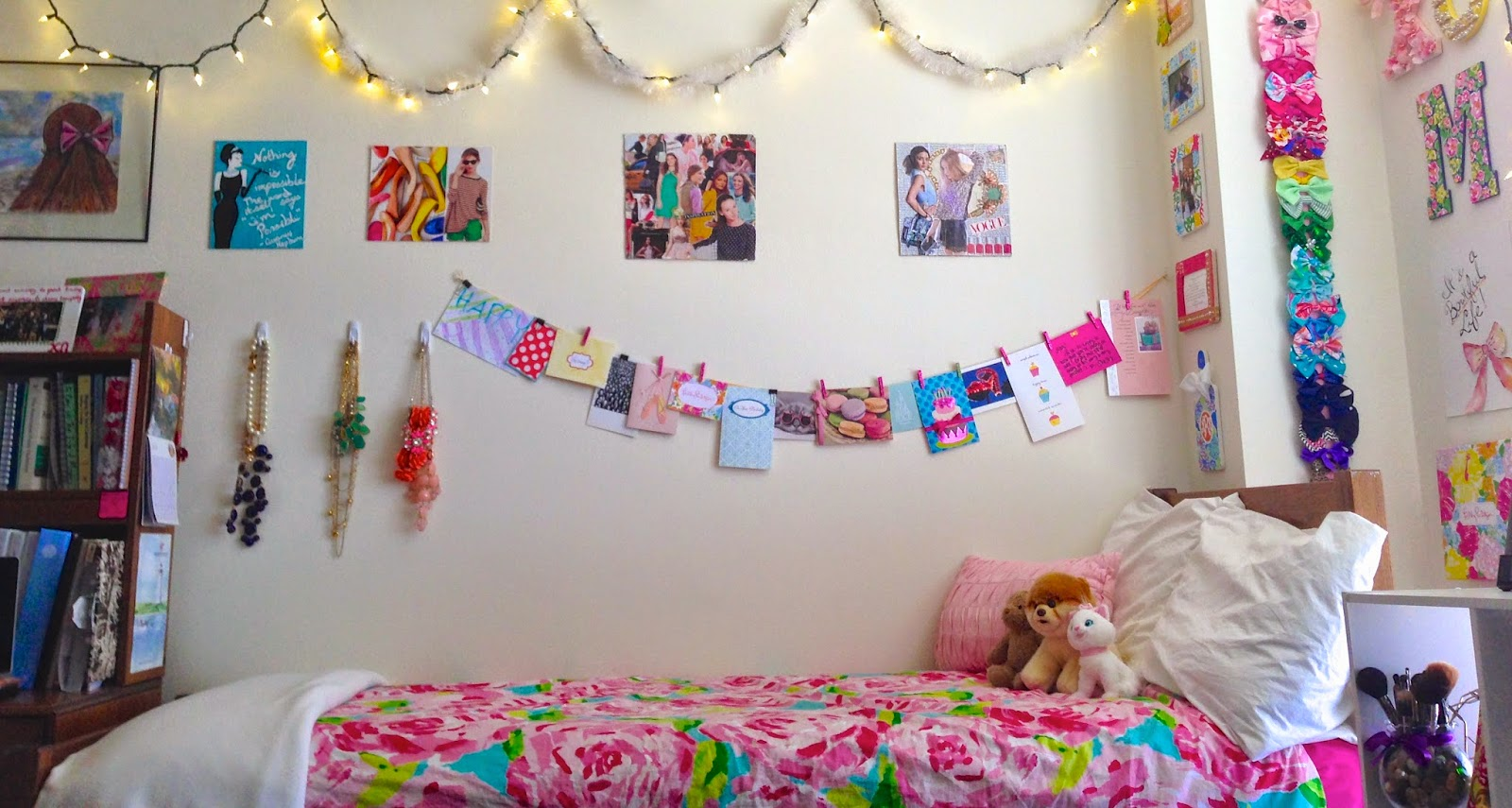 My Colorful Freshman Dorm - Bowtiful Life
