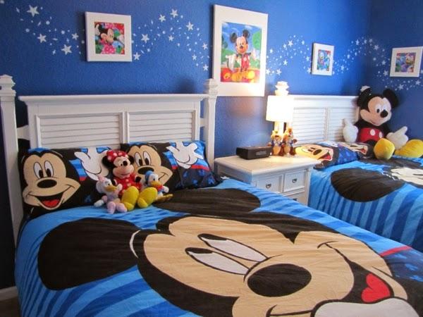 dormitorio mickey mouse