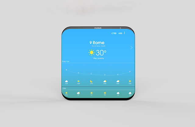 Samsung MyClock | New Smart Clock | Concept