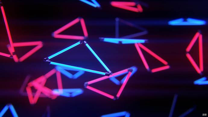 Wallpaper: Neon Stream