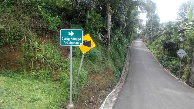 Rute ke Curug Nangga