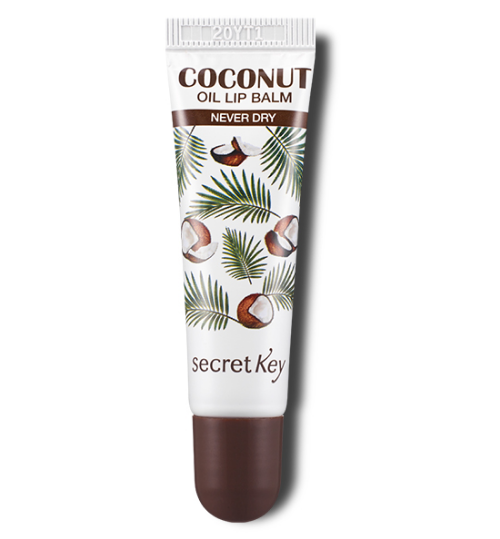 Coconut Oil lip Balm Never Dry