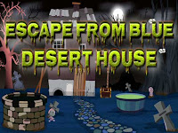 Top10 Escape From Blue Desert House