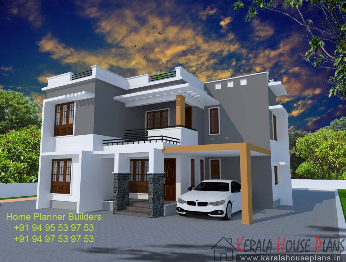 box model house