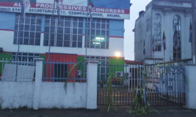 Ungodly  Persons Seal Off APC Secretariat with charm | Photos 333