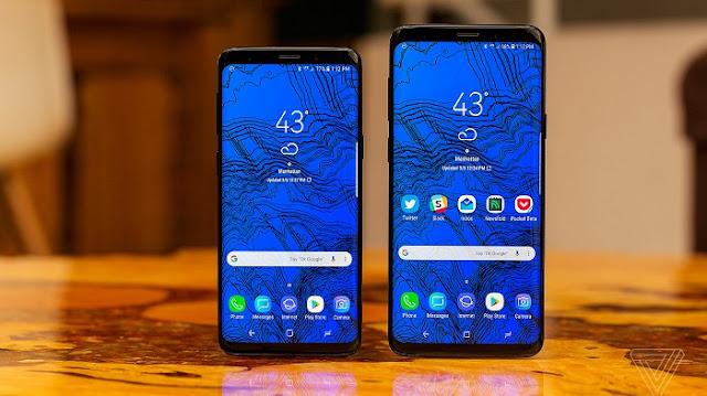 Smartphone Gaming Terbaik - Samsung Galaxy S9 dan S9 Plus