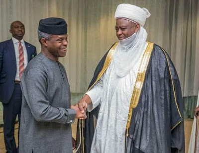 Photos from acting president, Yemi Osinbajo's ramadan dinner with Northern Traditional leaders
