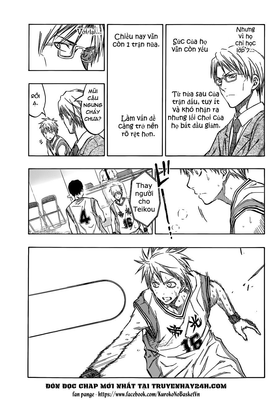 Kuroko No Basket chap 208 trang 15