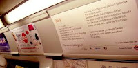 Poems on the Underground: progetto londinese compie 30 anni