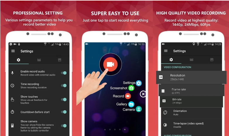 5 Aplikasi Perekam Layar Terbaik Untuk Smartphone Tahun 2019