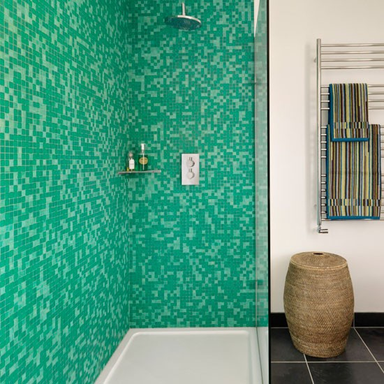 Mosaic Bathroom Tile Ideas: To Da Loos: Shower Wall Tile Design Ideas