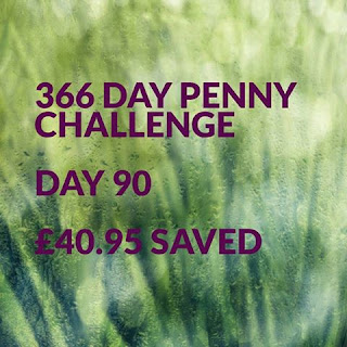 365 Day Penny Challenge Day 90
