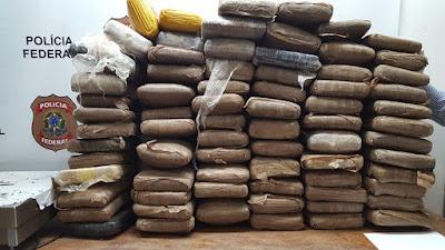 Operação da PF desarticula quadrilha especializada em transportar drogas pelo aeroporto de Santarém