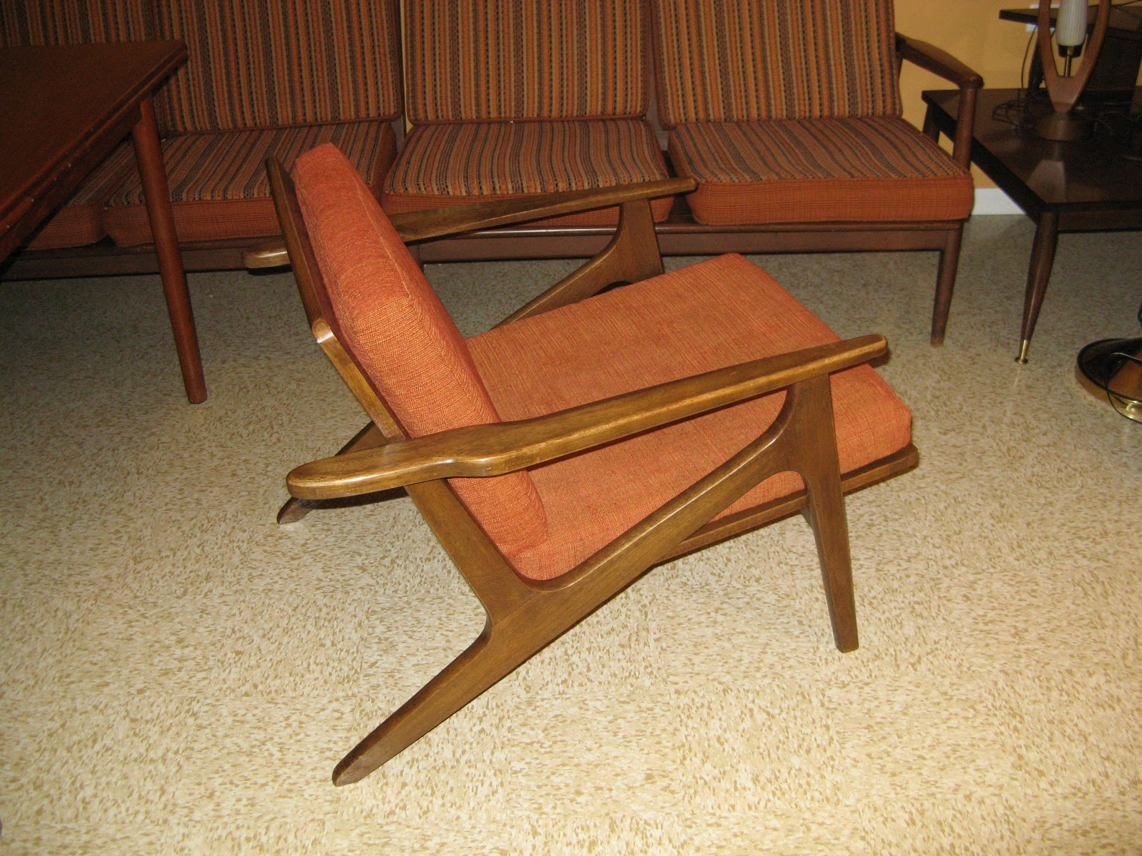 z chair mid century royal covers midcenturymodernmania gmail danish modern
