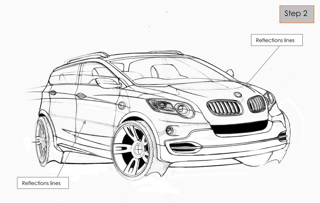 Auto Design !!: Quick car rendering in Photoshop
