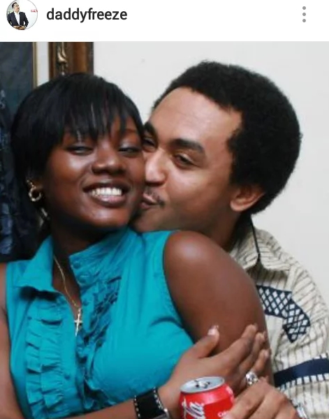 daddy freeze kissing basketmouth wife
