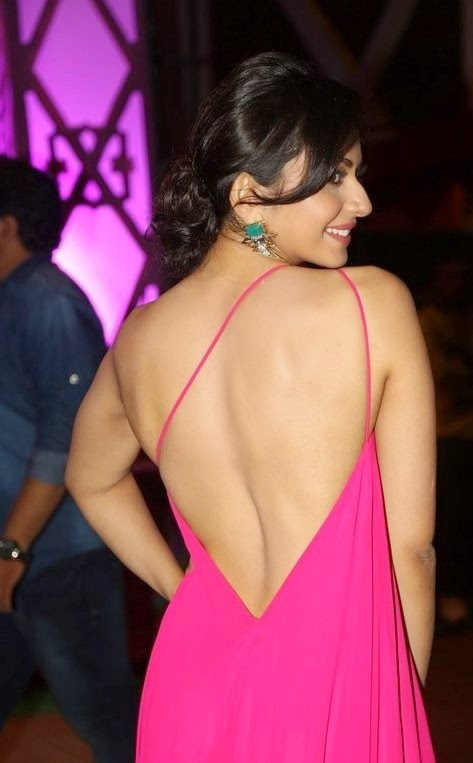 Rakul Preet Singh Photo Shoot In Sleeveless Pink Dress