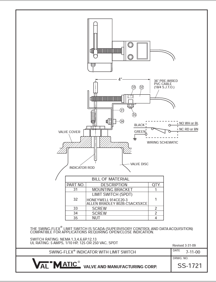 Electrical User Manual  Val Matic