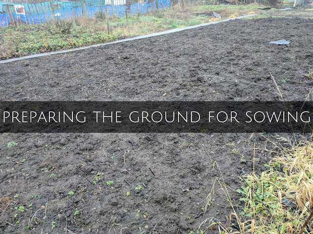 preparing ground sowing