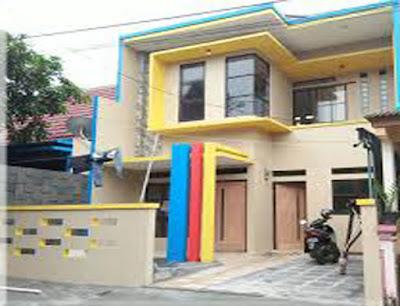 warna cat dinding luar rumah yang cerah 9