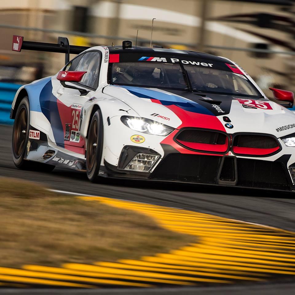 Bmw M8: BMW M8 GTE Has Strong Debut At Daytona