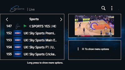 NEW APPLICATION TV WITH TOP CHANNELS & SPORT