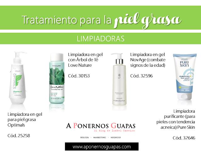 Tratamiento para la piel grasa Limpiadoras Oriflame A Ponernos Guapas