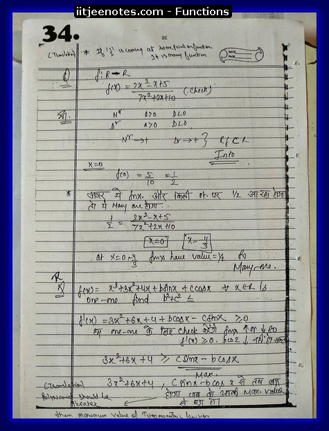 functions notes download kare6